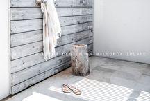 Mon côté rustique. / Rustic and natural interiors ♡