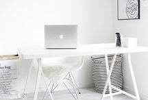 Minimaliste style. / Minimalist interiors ♡