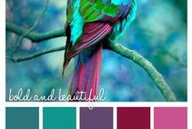 Design Themes: Mood Boards & Colour Palettes
