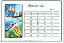 Stundenpläne / Timetables  Grundschule / Stundenpläne / Timetables ®Atelier BuntePunkt