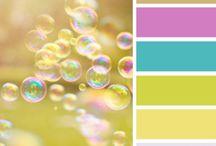 """Psicología del color """"Paletas de colores"""" / Paletas de colores para diseño web o otras cosas."""
