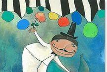 """ACRYLBILDER  - für's Kinderzimmer / Acrylbilder- Galerie - Serie: """"Bilder für Königskinder"""" Fröhliche und farbenfrohe """"Wandbilder fürs Kinderzimmer"""" - für Kinder im Alter von 0 - 12 Jahren. Leinwandbilder Geschenke zur Geburt, Taufe und Kommunion."""