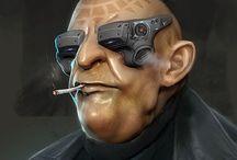 S:Core - 6th World People / Shadowrun - Cyberpunk - Modern - Civilians, Techs & Medics