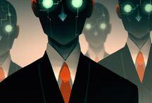 S:Core - Corporate Execs, Scientists & Agents / Shadowrun - Cyberpunk - Sararimen - Execs - Scientists - Corporate Agents
