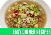 Easy Dinner Recipes / healthy and easy dinner recipes