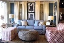 Beach House Decor: Living Room