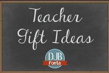 Teacher Gift Ideas / Crafty and fun gift ideas for Teachers