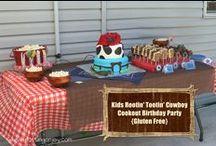 Cowboy Birthday Party Ideas / For Corbin's 8th birthday
