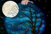 Moon, Sun, Stars