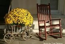Wagons, Wheel barrows and Etc / Happy Pinning!!!! / by Lena Long