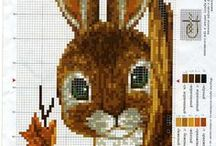 cross stitch / counted cross stitch / by Ellie