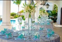 Tiffany Blue Wedding / Tiffany Blue Destination Weddings Themes Inspirations