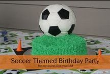 Soccer Birthday Party ideas / Ideas for Cody's Soccer Birthday Party