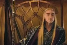 Thranduil For President of Middle Earth / Elvenking Thranduil: sassiest lil' slice of fabulous hair and sexy eyebrows ever to hit Middle-Earth. LotR/Hobbit fanboard - just ask me to join!