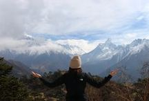Trekking to Everest in Nepal / Adventure from March 2014. Wrote lots about it on my blog, check it out!