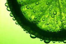 Het is groen en