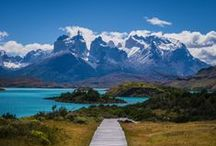 South America Bucket List / All the places I want to see in South America.