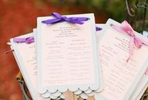Programs / Wedding Ceremony Programs Inspirations
