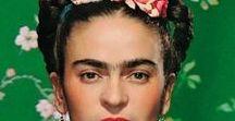 Frida Kahlo / Beni her koruyuşuna bir yıldız koyuyorum/ Ve her sevişine beni./ Her haksızlığımda sildim gökkuşağımın bir rengini/ Benim gökkuşağım yok çoktan,/ Bir sürü yıldızı olan bir gökse başımda./ Hiç unutmayacağım./ Gözlerimi kocaman açıp, yokluğuna bakıyorum/ Şimdi, bileğimdeki güzelliği çıkarmıyorum./ Gülnur