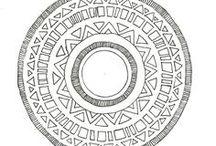 Doodles/Mandalas