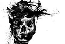 skull / by Thunderbolt⚡️