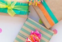 Creative Gift Wrap / The art of gifting and creating a beautiful gift wrap!