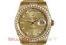 Mens Day Date Presidents  / Mens Day Date Presidents Rolex by Swiss - Wrist