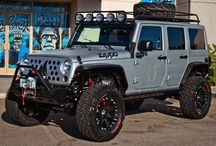 Cars, Trucks, and Jeeps