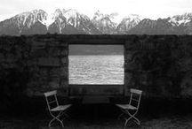 Architecture - Montagne / Architecture - refuge - montagne - pente - paysage - topographie - relief - rapport au sol / by Cha F.