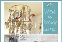 Recycling and DIY ideas!