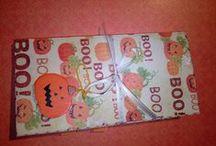 Halloween album / Nagyon kedves barátnőmnek készítettem ezt a minialbumot. :) 2013.11.01.