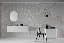 Fluent / Fluent bathroom collection. Designed by Arik Levy for Inbani.