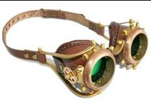 """Steampunk/Clockwork """"Gear"""" / This can be accessories, jewelry, helmets, pretend science tech just about anything really."""