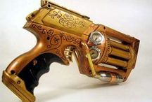 Weapons etc - Steampunk / Want to be inspired? Need ideas? Then check out our weapons and armour themed pins!