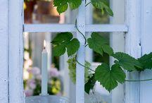 * Garden shade *