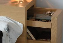Beds with storage / Another try to squeeze some extra functionality out of common furniture. :)