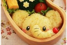 Cute Japanese Food craft / Kawaii bento, anime bento,Japanese cute food craft