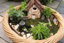 Romantické zátišia v malom / Miniatures gardens