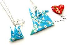 Origami Art Jewelry / Origami creations,origami art jewelry