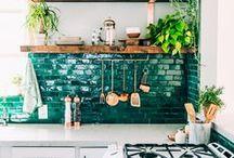Bohemian-ish kitchen ideas