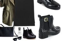 Booties & Boots / Fashion under water! over snow ,  scare de cold!