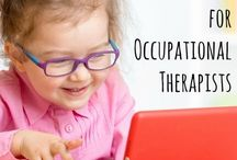 Occ Therapy for a kids / Fun activities to help little ones develop muscle tone, gross motor skills, fine motor skills and cope with sensory sensitivity.