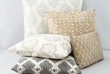 Pillows and Accessories / Accessories for every space...