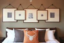 Wall Decor and Design / Ideas for adding interior design interest to your walls