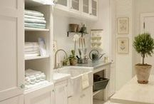 Laundry Rooms / Make it functional and fun...