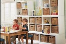 Kid's Playrooms / Kids just want to have fun...creative & functional playrooms!