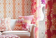 Fabrics to Love! / Fabrics add character and charm to every space...