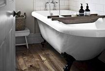 Inspirations salles de bain vintage art deco / Idées pour notre future salle de bains
