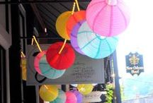Chinese Lanterns / Theyre all the rage - so lets get creative