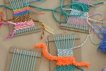 Kid friendly DIY / Ideas for crafting that is accessible for children.